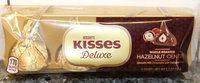 Hershey's Chocolate Kisses Deluxe with Whole Roasted Hazelnut Center uploaded by Rosemary N.