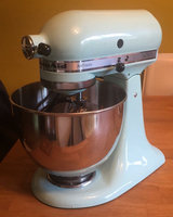 KitchenAid Ultra Power 4.5 Qt Stand Mixer - Ice Blue KSM95 uploaded by Makayla K.