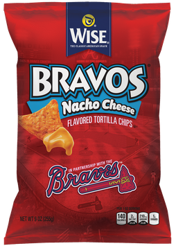 Photo of Wise Bravos Nacho Cheese Tortilla Chips uploaded by Eichi B.