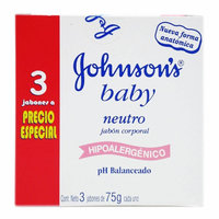 Johnsons Baby Soap Bar for Face & Body - 3 oz, 3 Pack uploaded by Karla S.