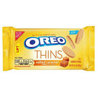 Nabisco Oreo Sandwich Cookies Thins Salted Caramel Creme uploaded by Stacey D.