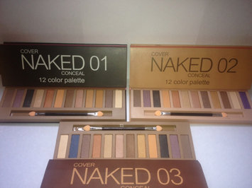 Photo of Urban Decay Naked Palette uploaded by GabrielaC. C.