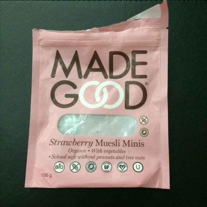 Made Good, Granola Bar, Organic Chocolate Chip, Pack of 6, Size - 6/5 OZ, Quantity - 1 Case [] uploaded by Nattractive