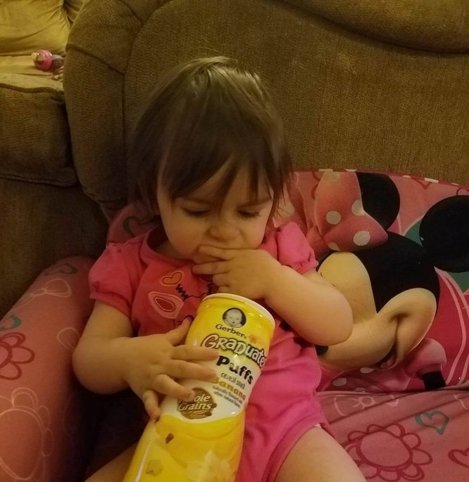 Gerber® Puffs Banana Cereal Snack 0.70 oz. Tub uploaded by Christa F.
