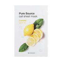 Missha Pure Source Sheet Mask (Lemon) (pack of 5) uploaded by Julie K.