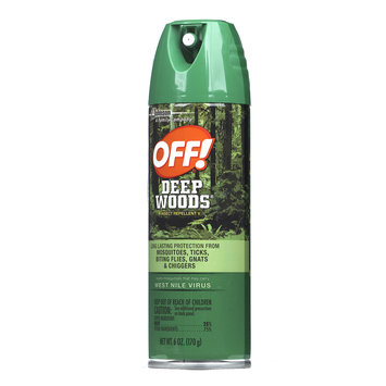 Photo of Deep Woods Off! Deep Woods Dry Aerosol Insect Repellent uploaded by Jessie B.