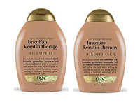 OGX® Ever Straight Brazilian Keratin Therapy Shampoo + Conditioner uploaded by Angela D.