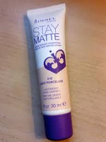Rimmel Stay Matte Liquid Mousse Foundation Soft Beige, Classic Beige and Light Ivory with Dimple Bra uploaded by Omaima B.