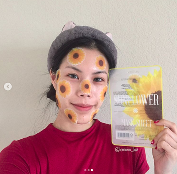 Photo of Kocostar Sun Flower Mask Sheet uploaded by Kimono_kat k.