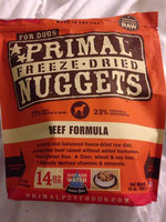 Primal Dog Freeze Dried Nuggets Beef - 14 oz uploaded by Megan M.