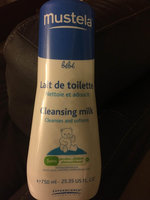 Mustela Cleansing Milk 750ml/25.35oz uploaded by Ness D.