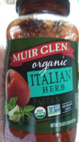 Muir Glen™ Organic Italian Herb Pasta Sauce Made with San Marzano Style Tomatoes 23 oz. Jar uploaded by Ursula B.