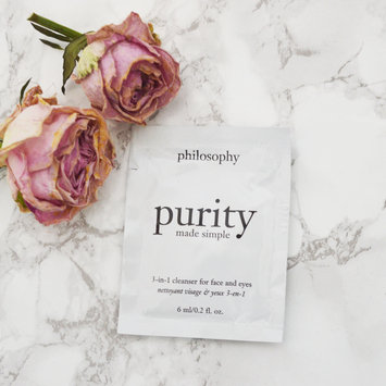 philosophy purity made simple one-step facial cleanser uploaded by Glitter R.