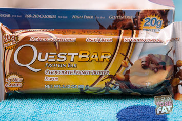 Quest Nutrition Bar Chocolate Peanut Butter Case of 12 2.12 oz uploaded by Jennifer S.