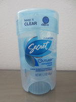Secret® Outlast XTEND Protecting Powder Clear Gel Deodorant uploaded by Zemyna R.
