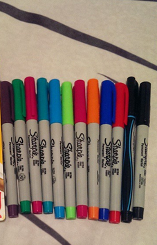 Photo of Sharpie Ultra Fine Point Permanent Markers - 12ct uploaded by Samantha T.