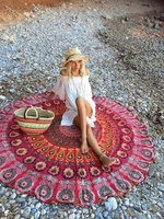 Better Homes and Gardens Oversized 40x72 Beach Towel - Suzani Blue uploaded by Kristin S.