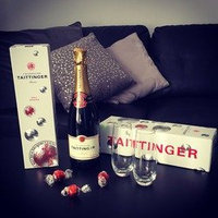 Taittinger Brut La Francaise NV 750ml uploaded by Michelle L.