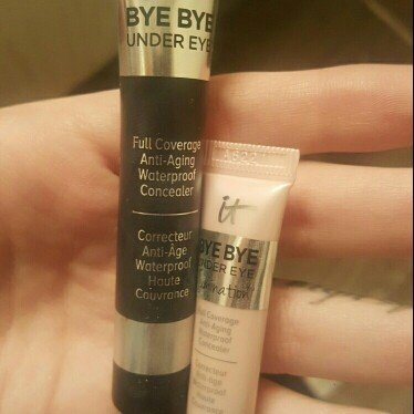 IT Cosmetics Bye Bye Under Eye Illumination Full Coverage Anti-Aging Waterproof Concealer uploaded by Annie P.