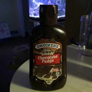 Photo of Smucker's Magic Shell Chocolate Fudge Flavor Topping uploaded by Haleigh B.