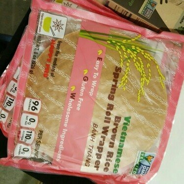 Happy Pho Vietnamese Brown Rice Spring Roll Wrappers, 8 oz uploaded by ms. johnson ..