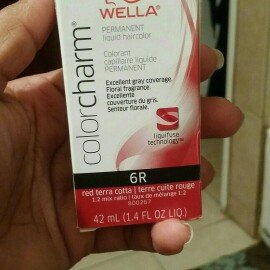 Photo of Wella Color Charm Liquid Haircolor 6R Red Terra Cotta 1.4 oz uploaded by karen R.