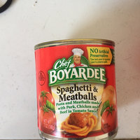 Chef Boyardee Spaghetti & Meatballs uploaded by Kiara L.