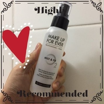 MAKE UP FOR EVER Mist & Fix Setting Spray uploaded by Hanson T.