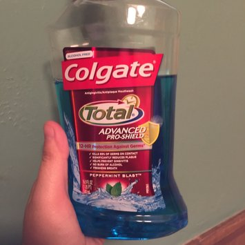 Colgate Total® Advanced Pro-Shield Mouthwash image uploaded by Sarah H.