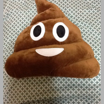 Photo of Grreat Choice® Poop Emotions Dog Pillow size: 33
