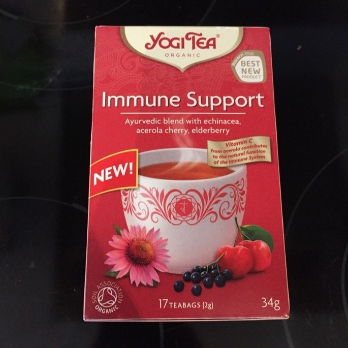 Yogi Tea's Yogi Echinacea Immune Support Herbal Tea Bags, 16 count, .85 oz, (Pack of 6) uploaded by Thilde S.