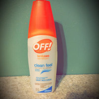 OFF! FamilyCare Clean Feel Insect Repellent II uploaded by Cassie G.