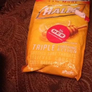Photo of HALLS Honey Lemon Cough Menthol Drops uploaded by Promise U.