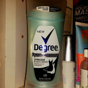 Photo of Degree Women Ultra Clear Black + White Antiperspirant Pure Clean Dry Spray uploaded by Wendy R.