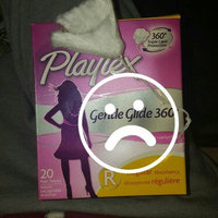 Playtex Gentle Glide Regular Deoderant Plastic Tampons - 18 CT uploaded by Kimmy A.
