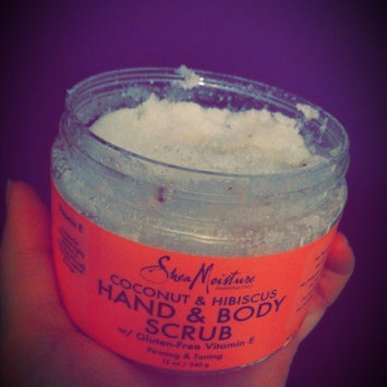 SheaMoisture Coconut & Hibiscus Hand & Body Scrub uploaded by marcella b.