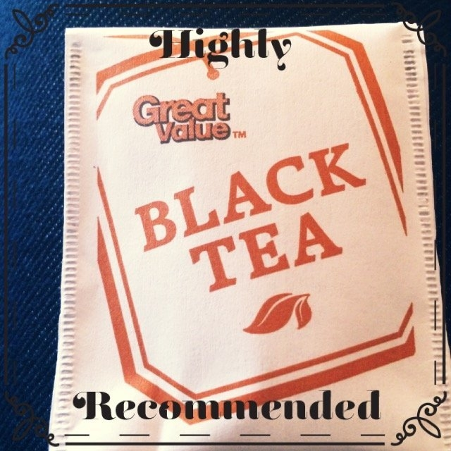Great Value Balck Tea  uploaded by Inna K.