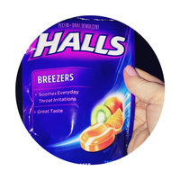 Halls® Breezers® Tropical Chill® Pectin Throat Drops 25 ct Bag uploaded by Stacey M.