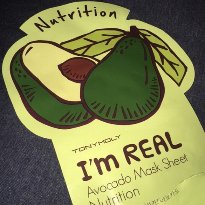 Tony Moly - I'm Real Avocado Mask Sheet (Nutrition) 10 pcs uploaded by Danielle C.