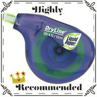 Sanford Paper Mate Liquid Paper DryLine Grip Non-Refillable Correction Tape uploaded by SynergyByDesign #.