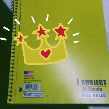 Photo of Norcom 1-Subject Notebook, 10.5 x 8 Inches, College Ruled, 80 Sheets (76086-24) uploaded by Kayla M.