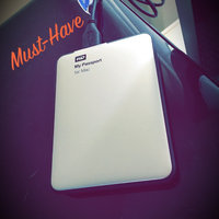 Western Digital WD My Passport for Mac 1TB Portable Hard Drive - Silver uploaded by Lindsey A.