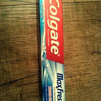 Colgate MaxFresh with Whitening Breath Strips Cool Mint Anticavity Fluoride Toothpaste, 2.5 oz uploaded by Krissa R.