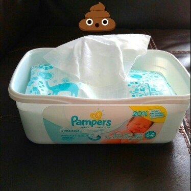 Pampers Sensitive Baby Wipes Refills Sensitive 9 Pack uploaded by Jessica B.