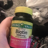 Spring Valley Cherry Flavor Fast Dissolve Biotin Dietary Supplement Tablets, 5000mcg, 90 count uploaded by Acacia E.