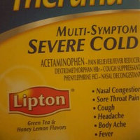 Theraflu Multi-Symptom Severe Cold Packets Lipton Green Tea & Honey Lemon Flavors - 6 CT uploaded by Marisol L.