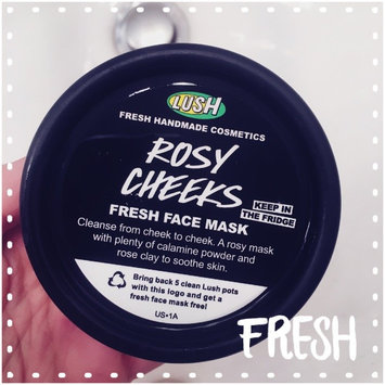 Photo of LUSH Rosy Cheeks Face Mask uploaded by Christina S.