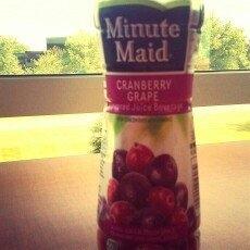Minute Maid Cranberry Grape Juice Beverage 450 ml Plastic Bottle uploaded by Brandy S.
