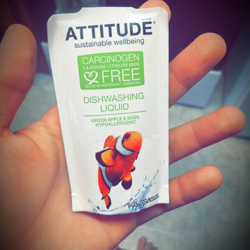 Attitude Dishwashing Liquid, Green Apple & Basilic, 23.7 fl. Oz uploaded by Emily S.