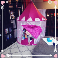 Click N' Play Girl's Princess Castle Play Tent, Pink uploaded by Natasha R.